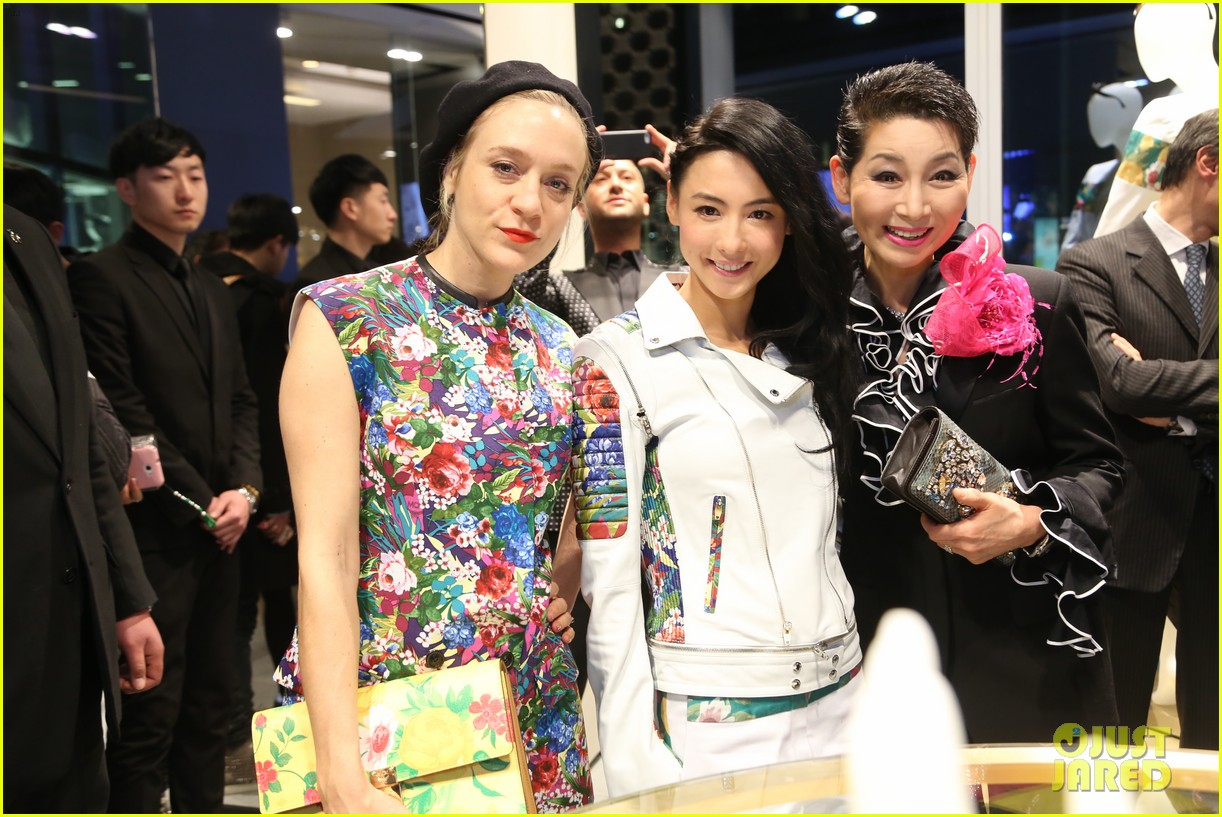chloe sevigny mcm shanghai opening 073068659