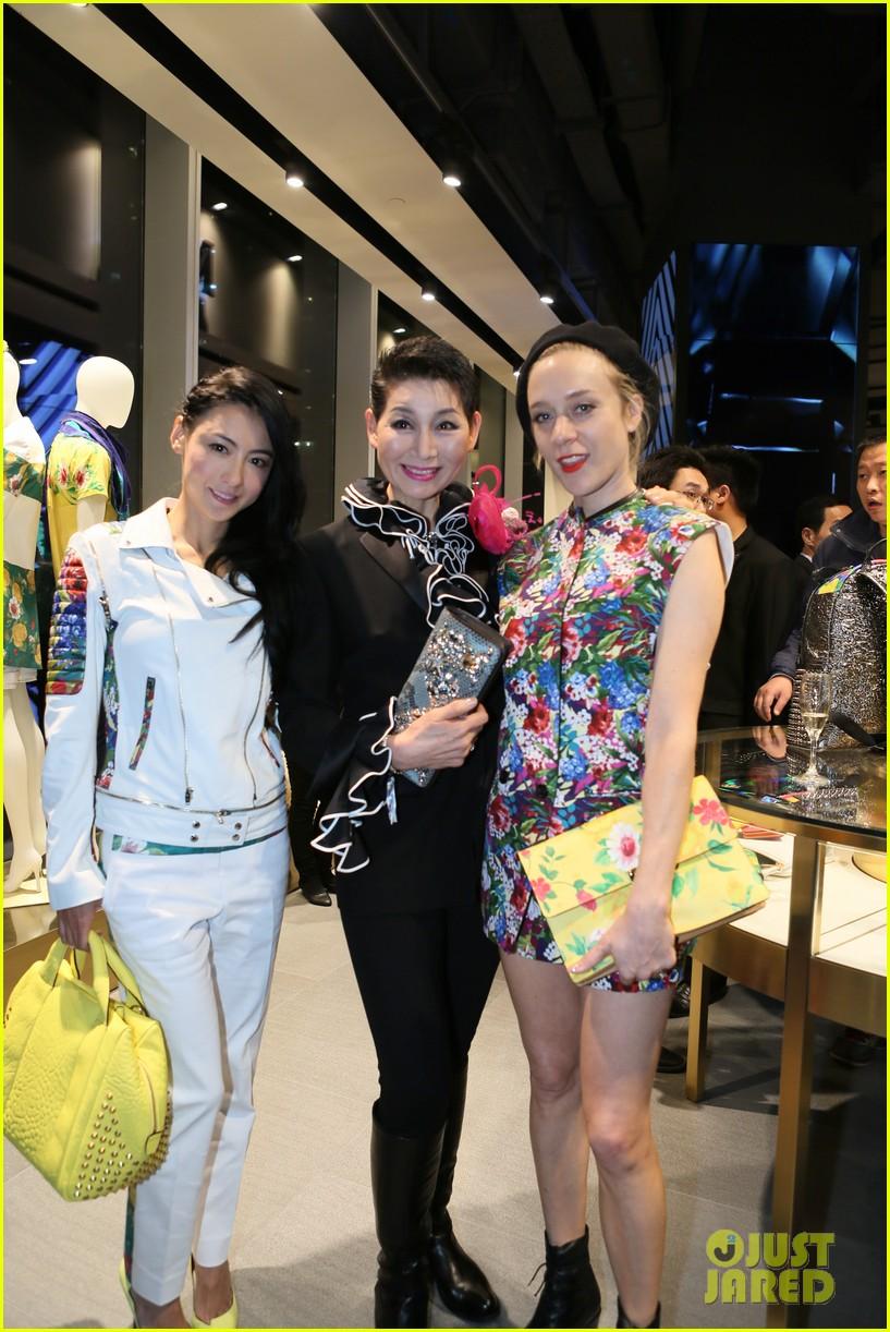 chloe sevigny mcm shanghai opening 12