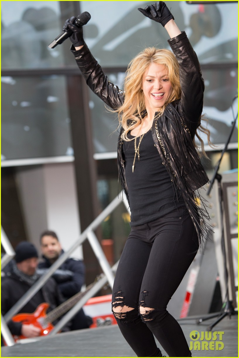 shakira brings the house down with hips dont lie empire on today show 013078857