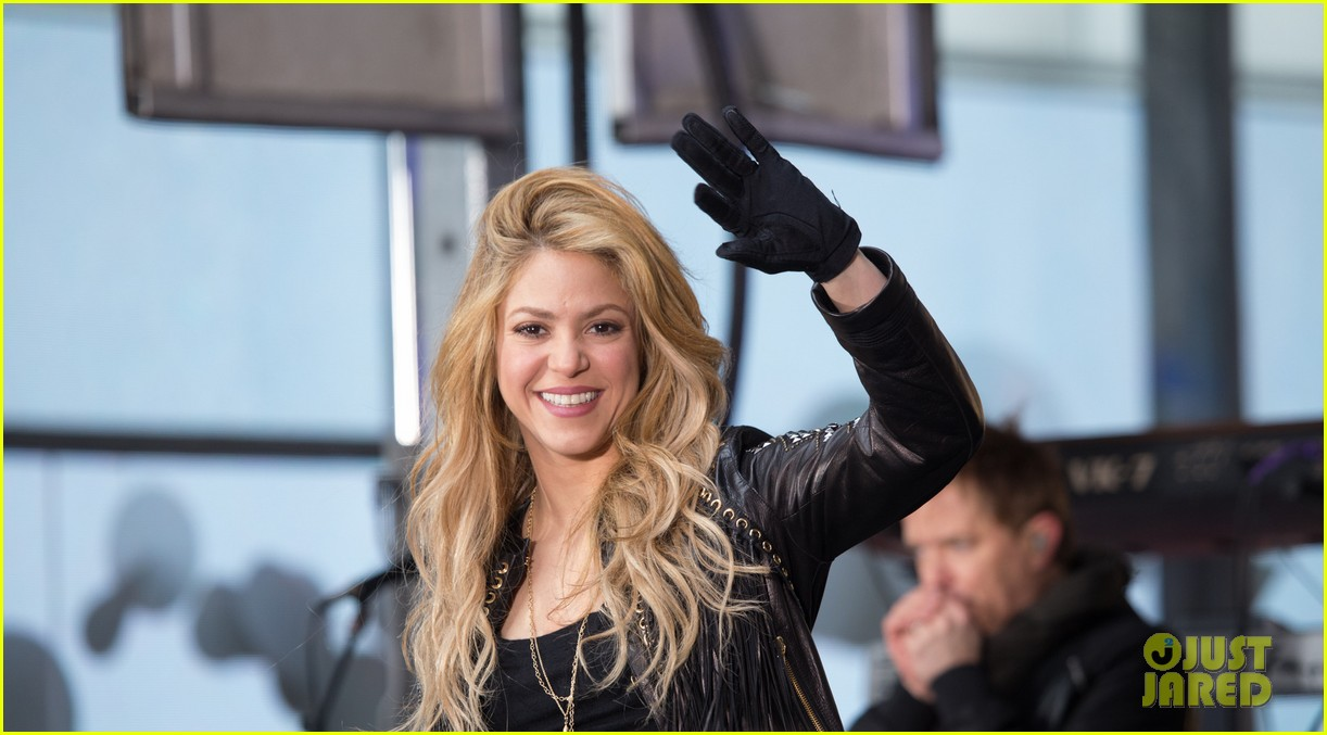shakira brings the house down with hips dont lie empire on today show 033078859