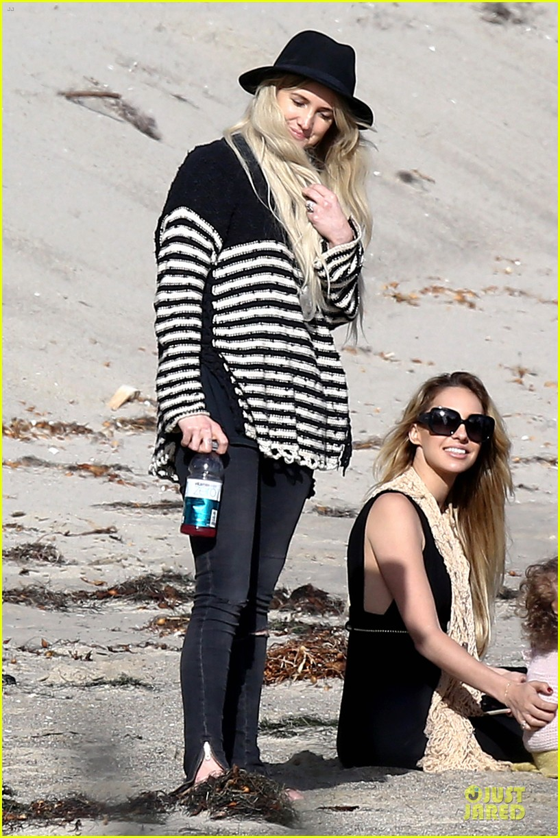 ashlee simpson evan ross beach with diana ross 193080808