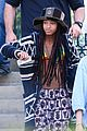 willow smith wears bikini top for sushi dinner 06