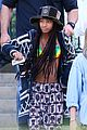 willow smith wears bikini top for sushi dinner 12