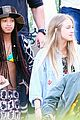 willow smith wears bikini top for sushi dinner 16