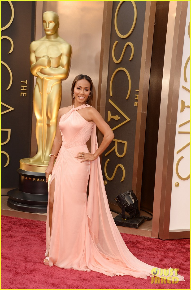 will jada pinkett smith oscars 2014 red carpet 033063948