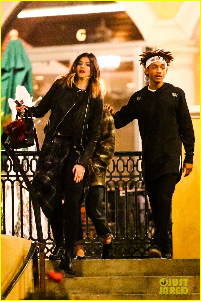 jaden smith has a staring contest with kourtney kardashians daughter penelope 073068932