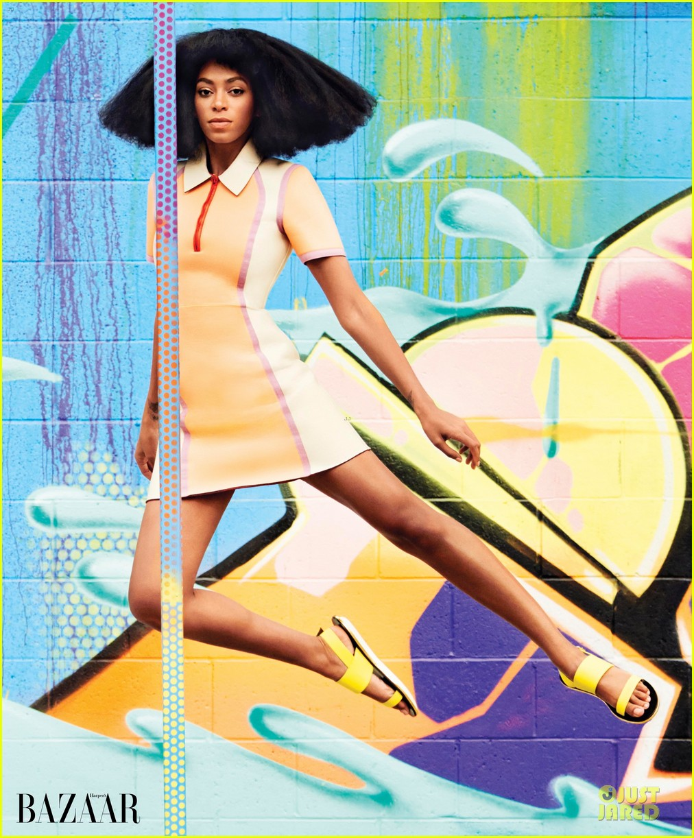 solange knowles full of color in harpers bazaar 013076605