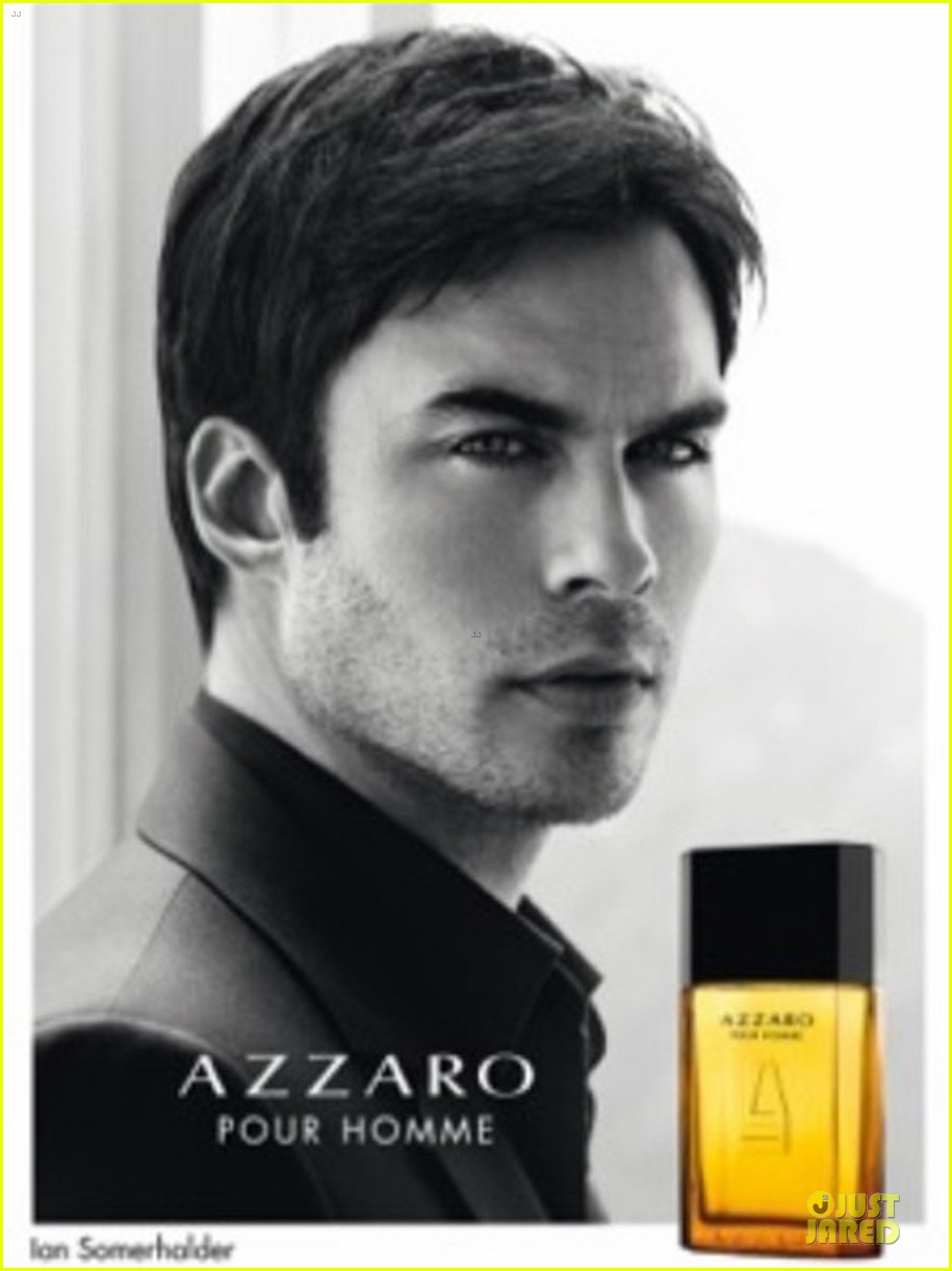 ian somerhalder seducing with azzaro pour homme 013078674