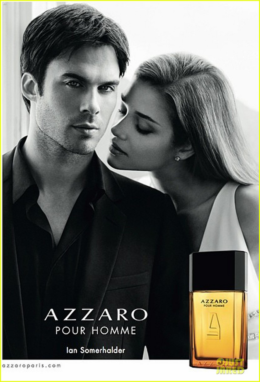 ian somerhalder seducing with azzaro pour homme 063078679