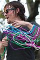 ian somerhalder norman reedus throw mardi gras beads in new orleans 04