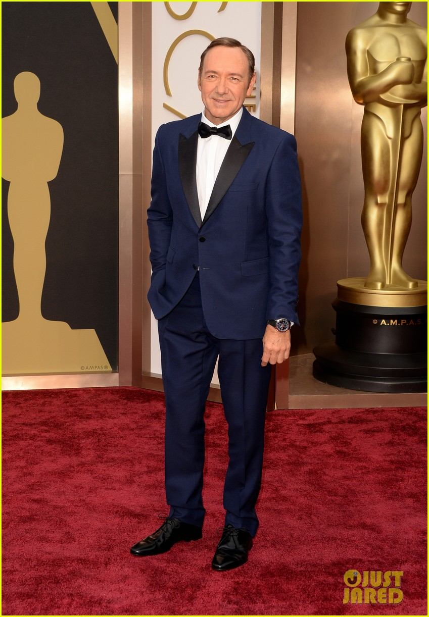 kevin spacey oscars 2014 red carpet 043064073
