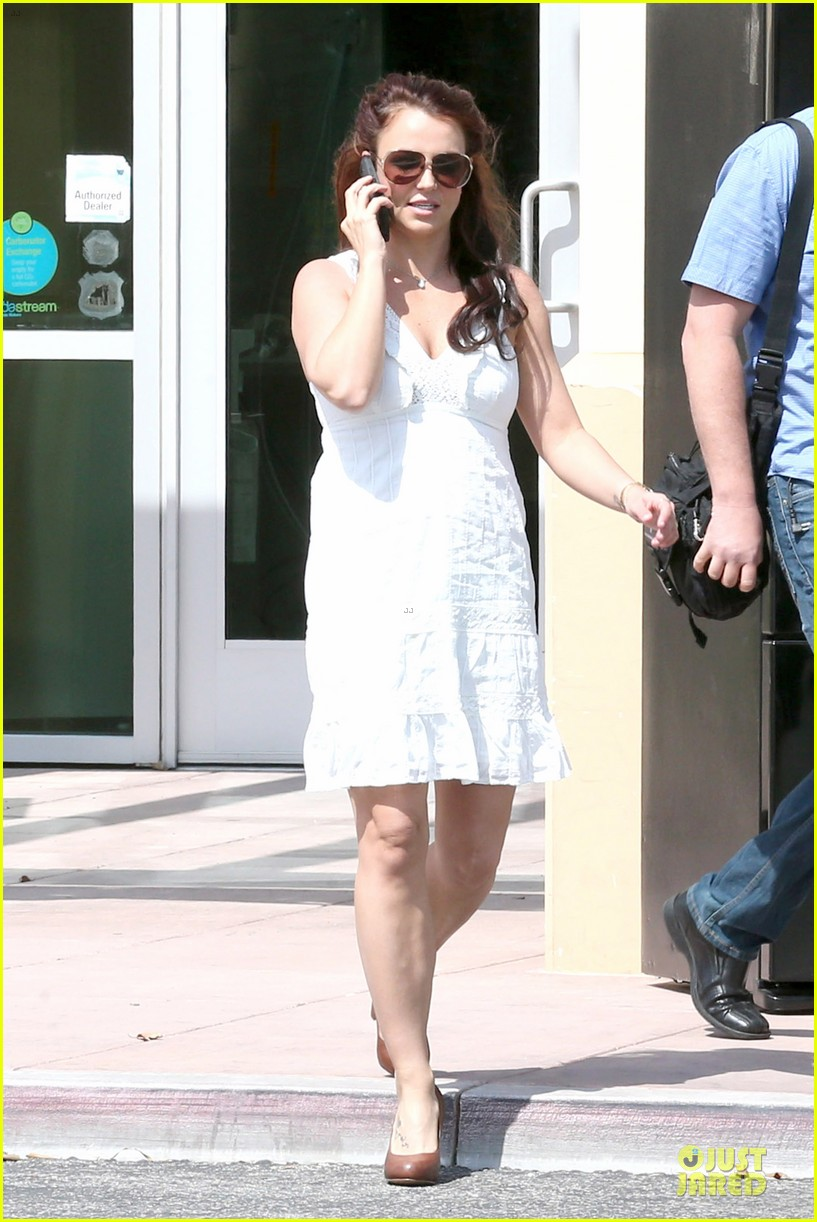 britney spears white after jamie lynn wedding 09