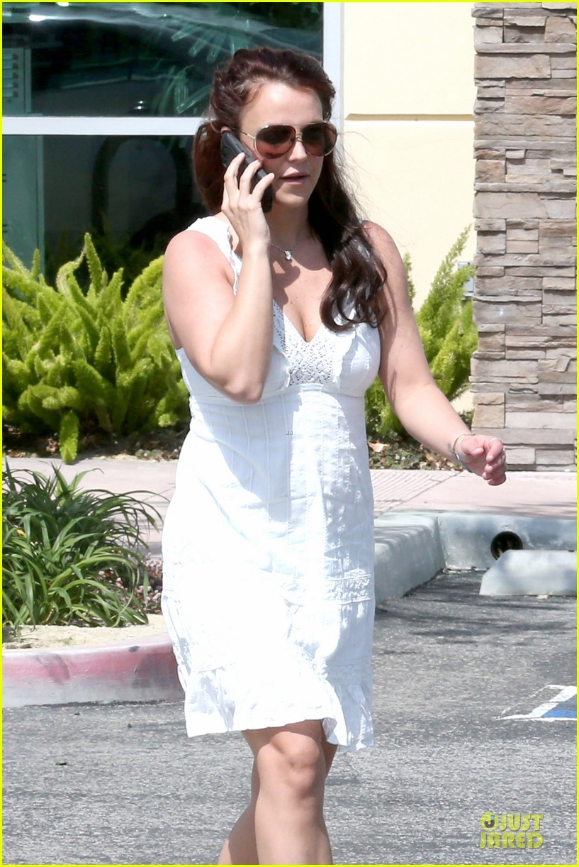 britney spears white after jamie lynn wedding 20
