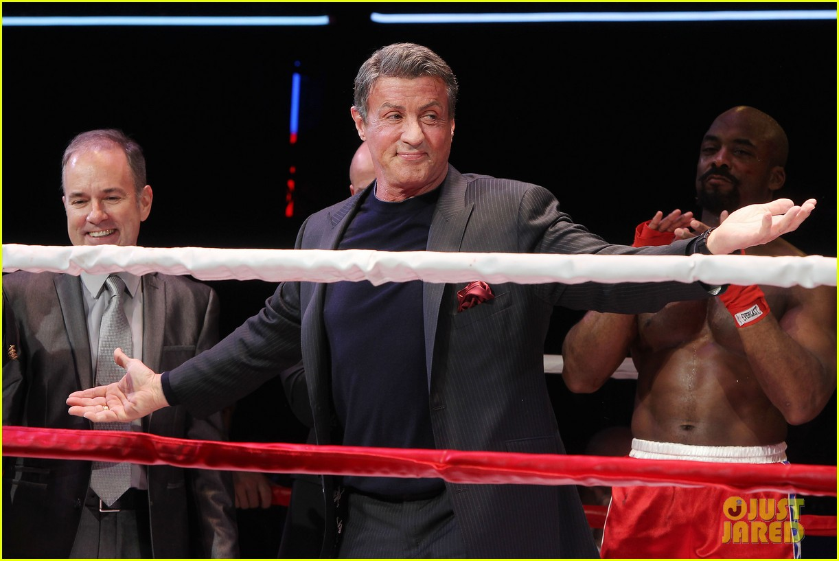 sylvester stallone knocks out broadways rocky 133071732