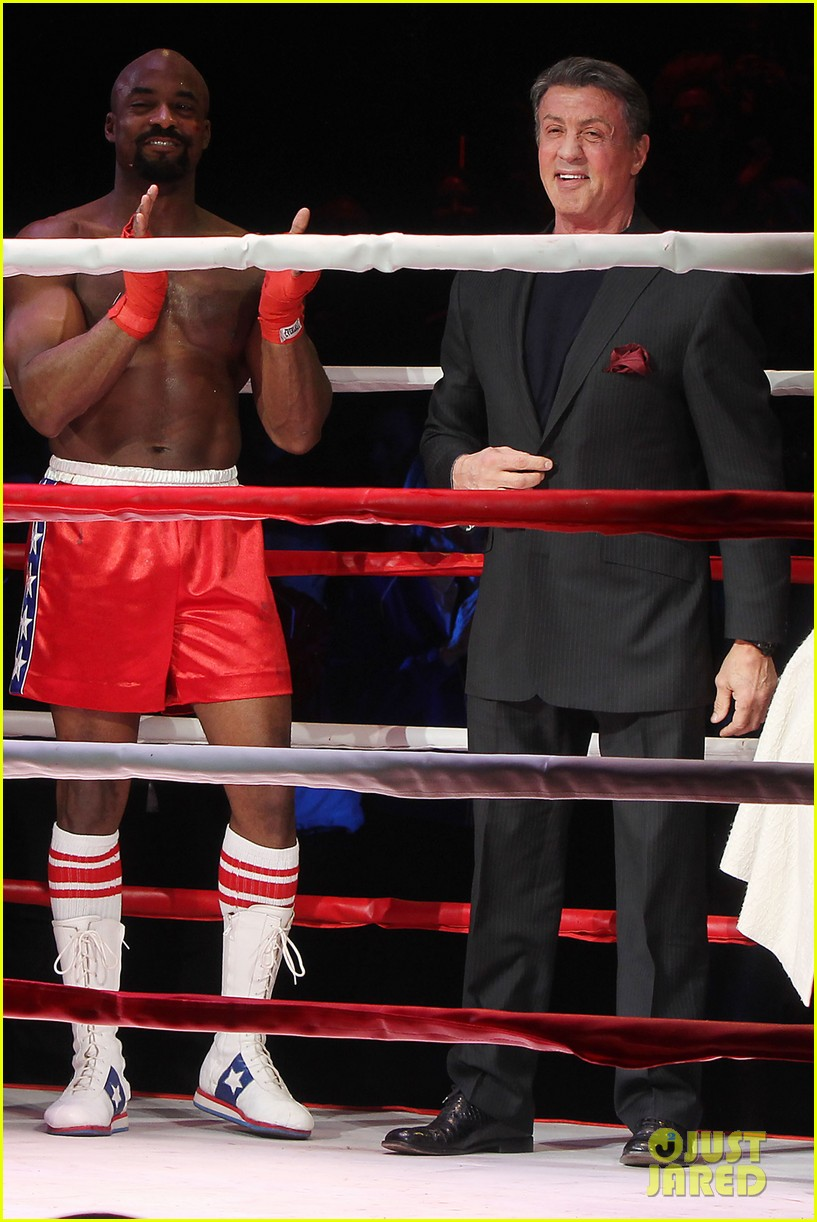 sylvester stallone knocks out broadways rocky 163071735