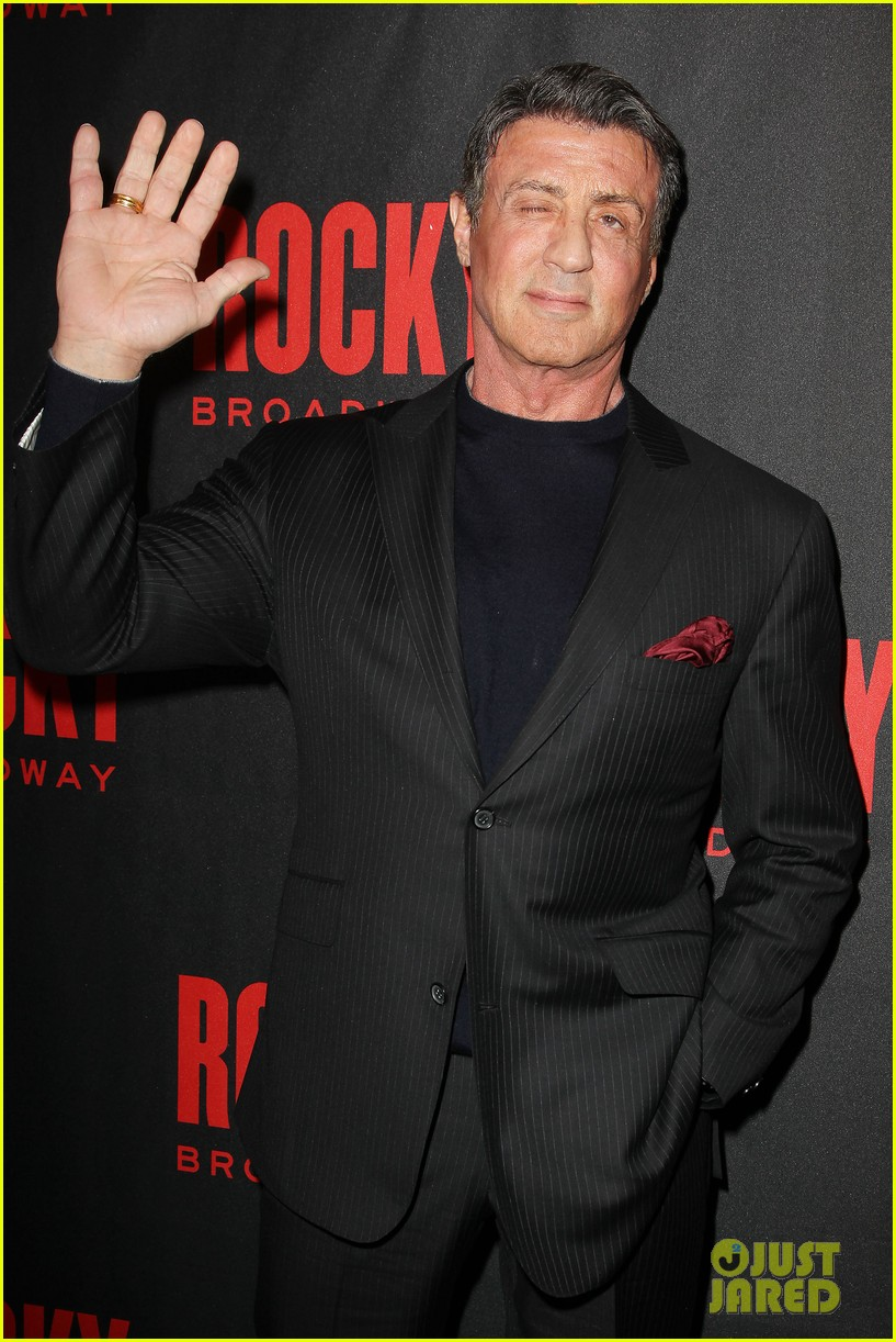 sylvester stallone knocks out broadways rocky 18