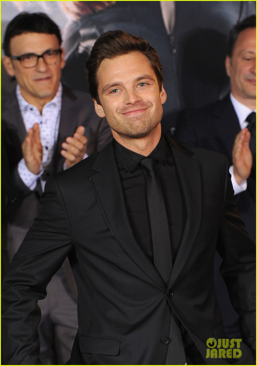 sebastian stan winter soldier at captain america premiere 063071658