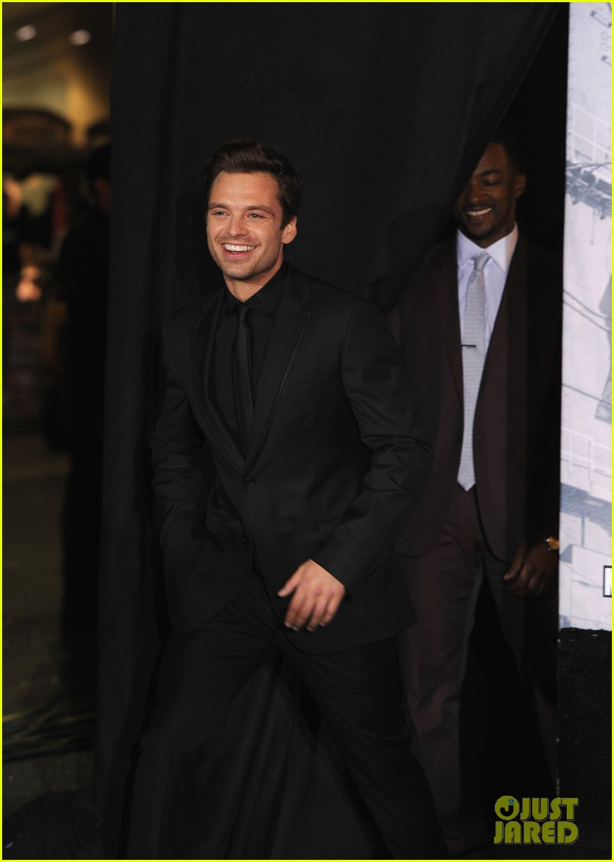 sebastian stan winter soldier at captain america premiere 083071660