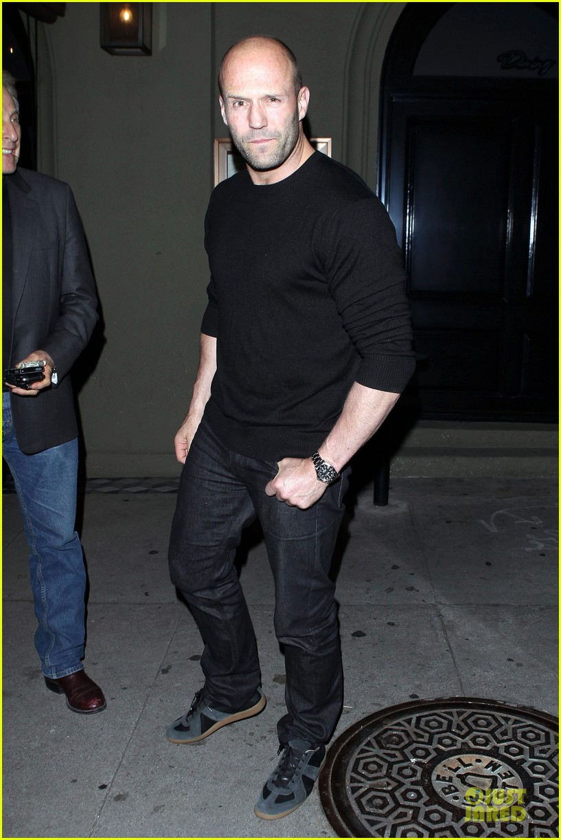 jason statham sylvester stallone dinner at craigs 01