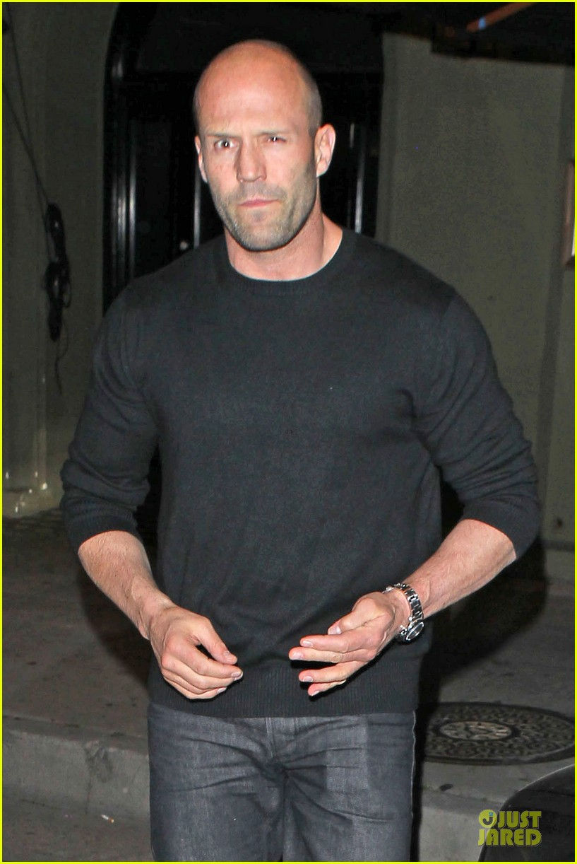 jason statham sylvester stallone dinner at craigs 023070107