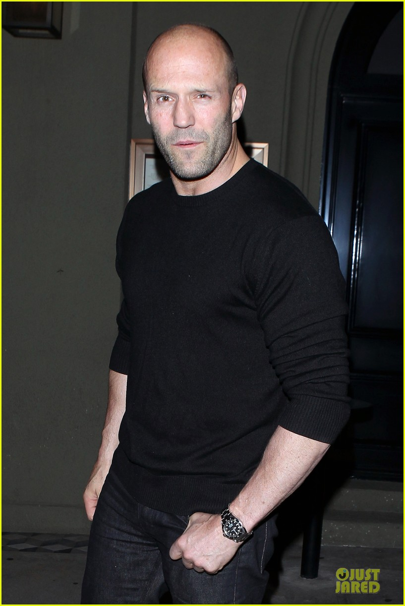 jason statham sylvester stallone dinner at craigs 063070111