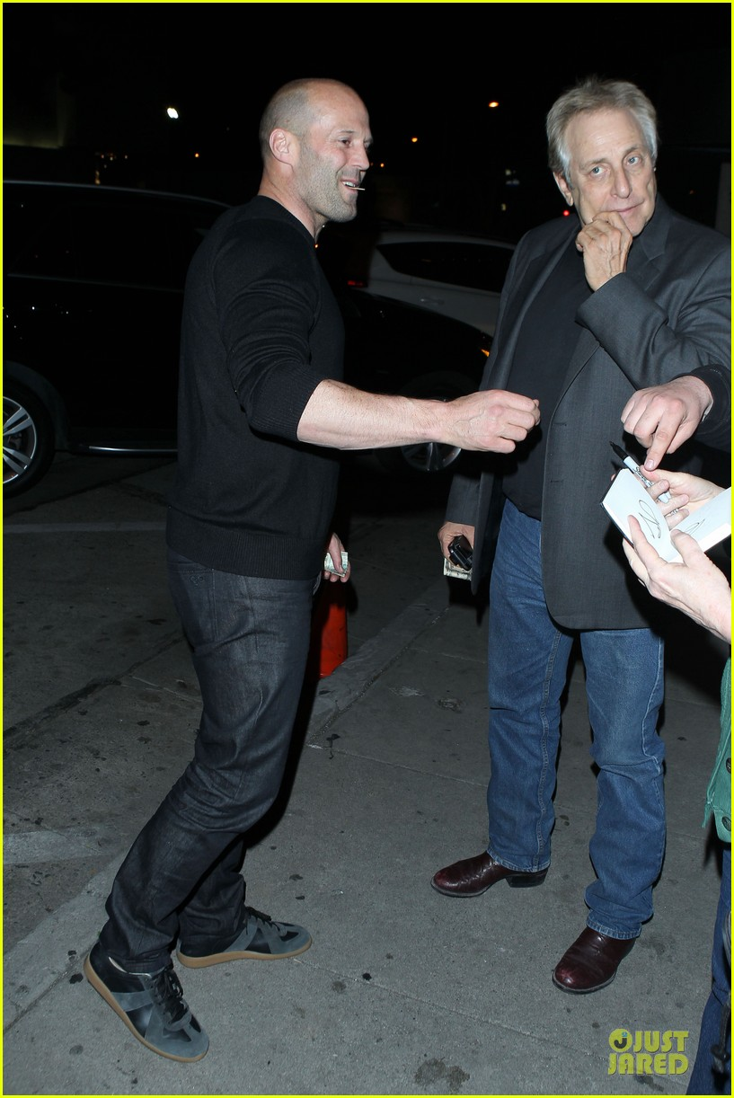jason statham sylvester stallone dinner at craigs 12