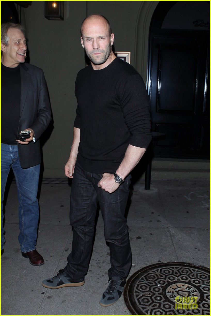 jason statham sylvester stallone dinner at craigs 14