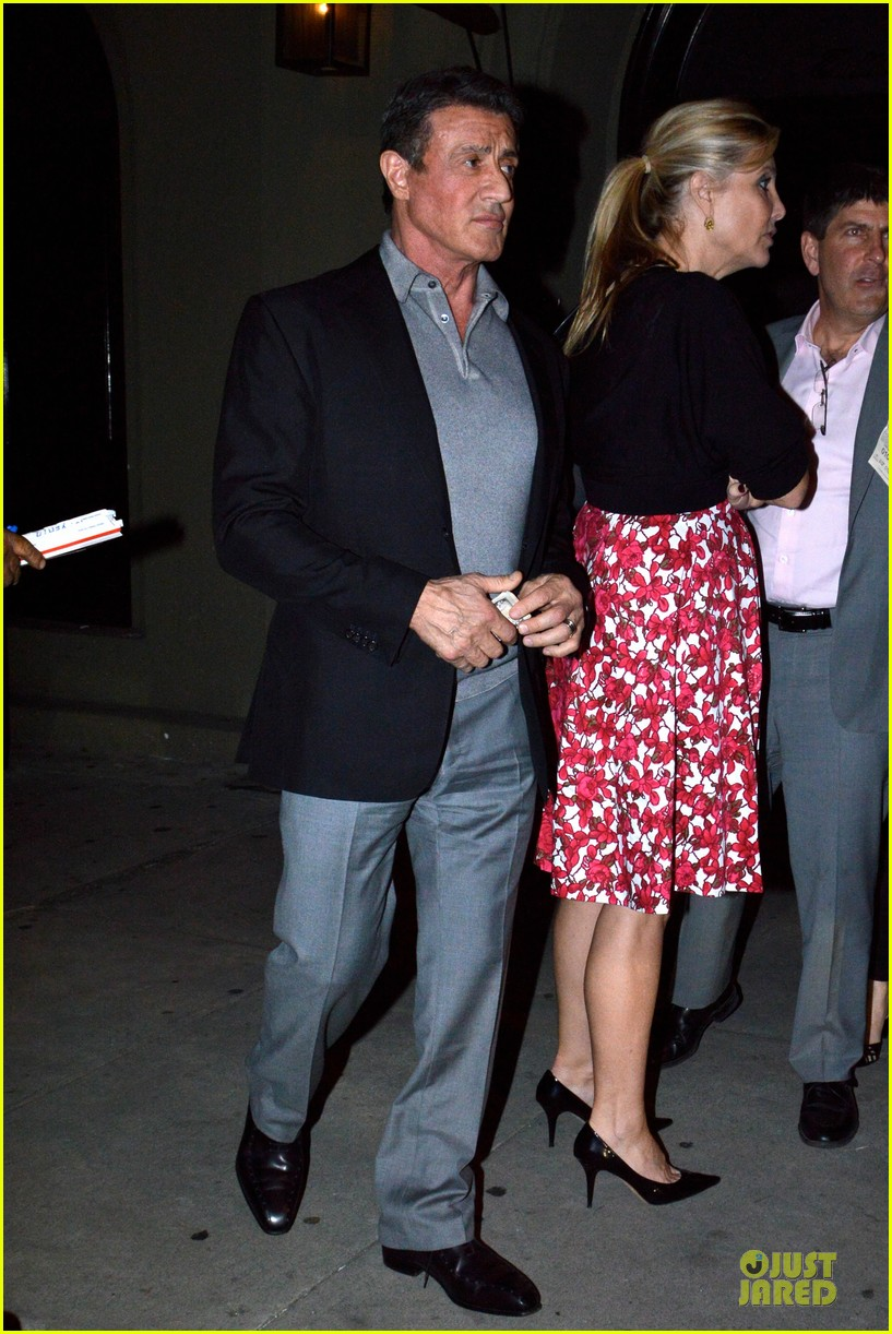 jason statham sylvester stallone dinner at craigs 203070125