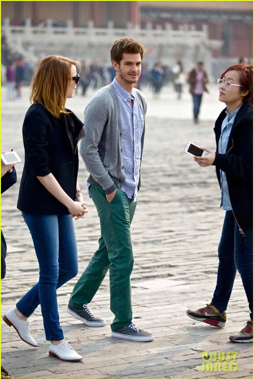 emma stone andrew garfield keep touring asia continue being the cutest couple 103078922