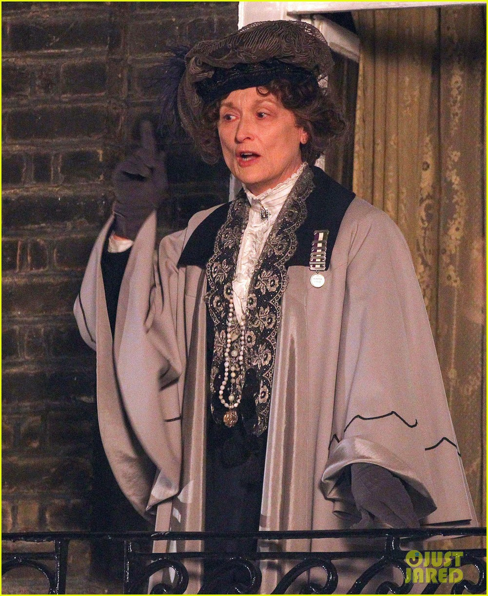 meryl streep first look on set at suffragette 043078349
