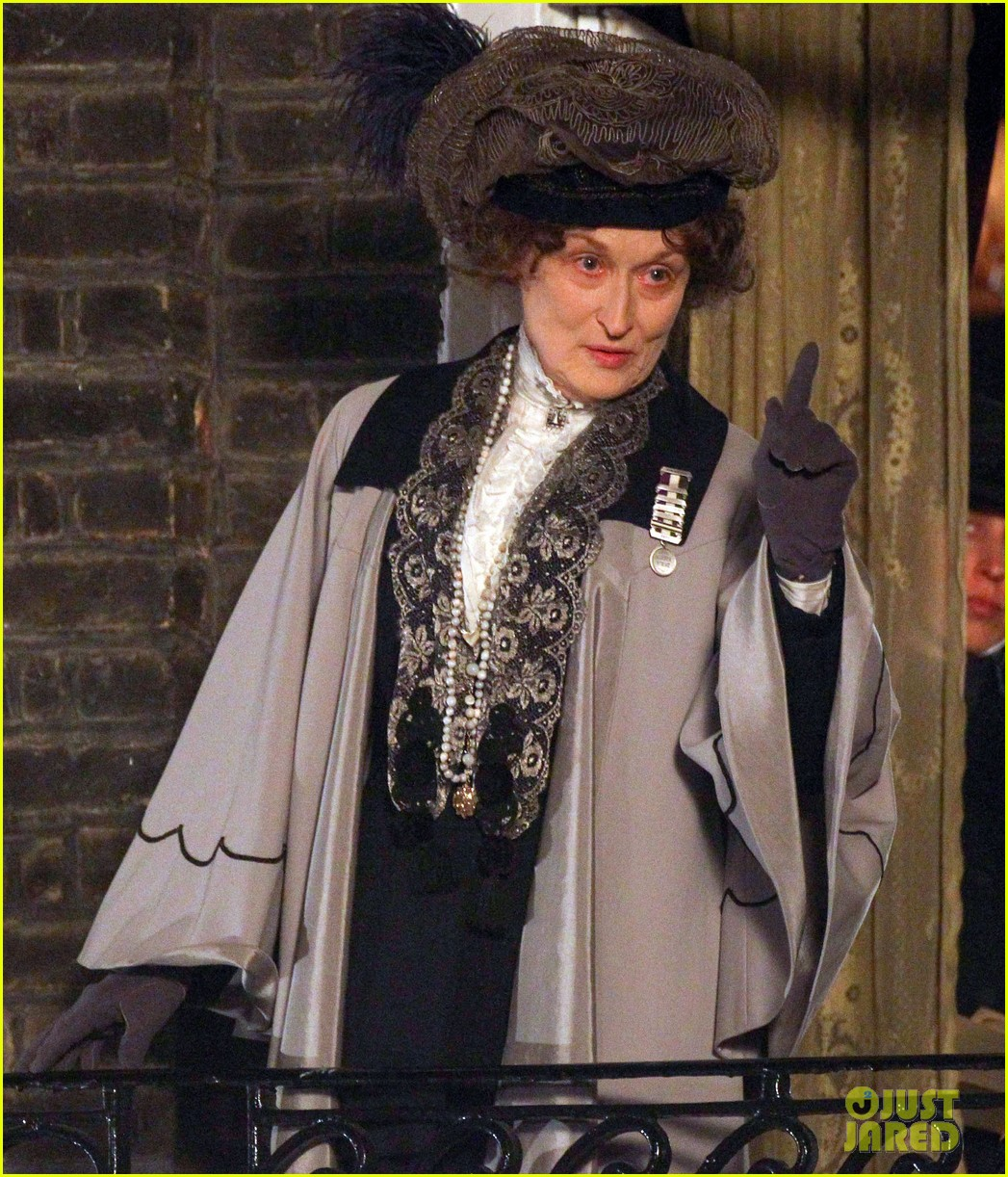 meryl streep first look on set at suffragette 233078368