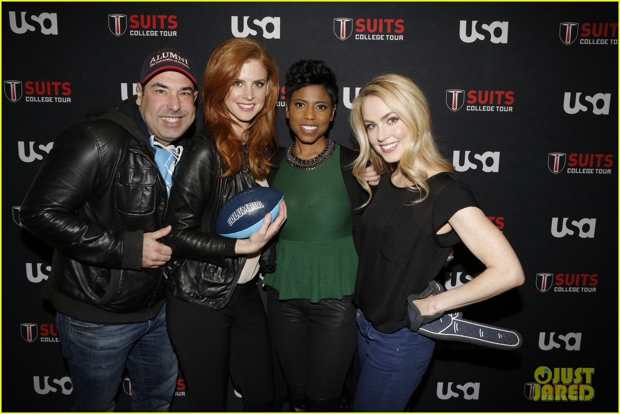 Sarah Rafferty and rick hoffman