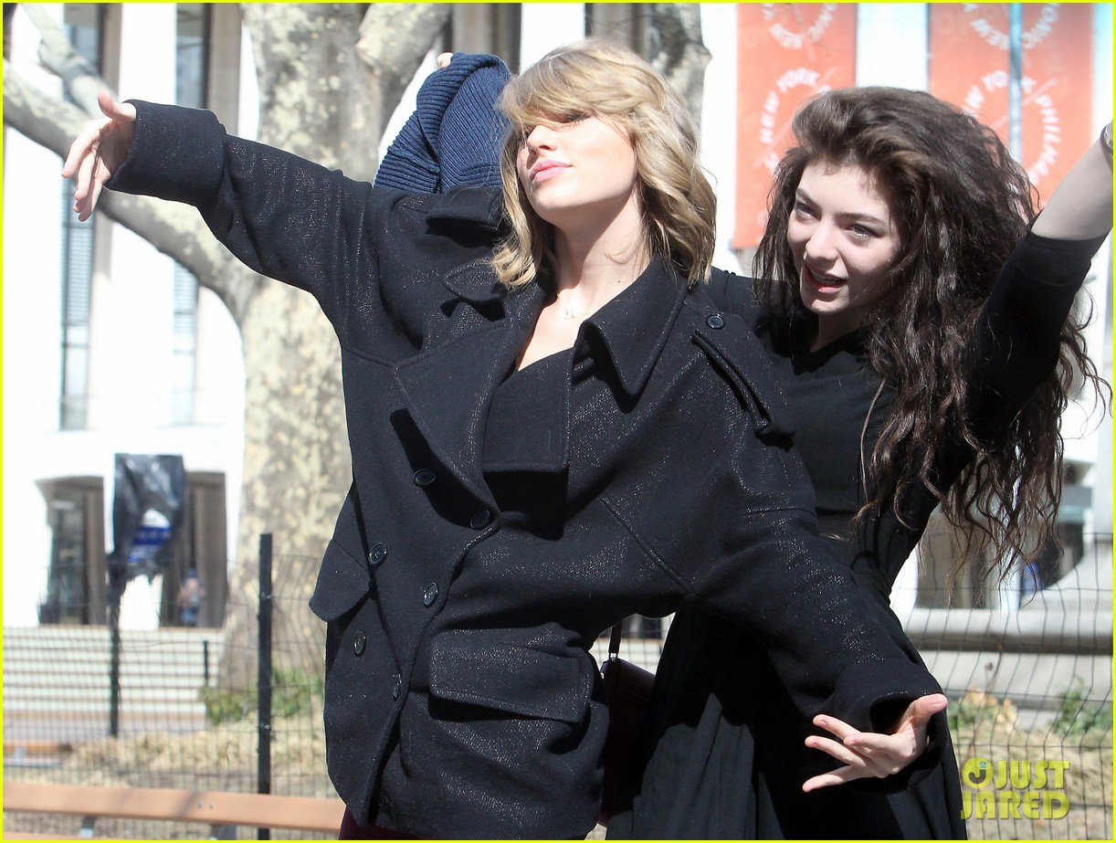 taylor swift lorde get silly in nyc 013068859