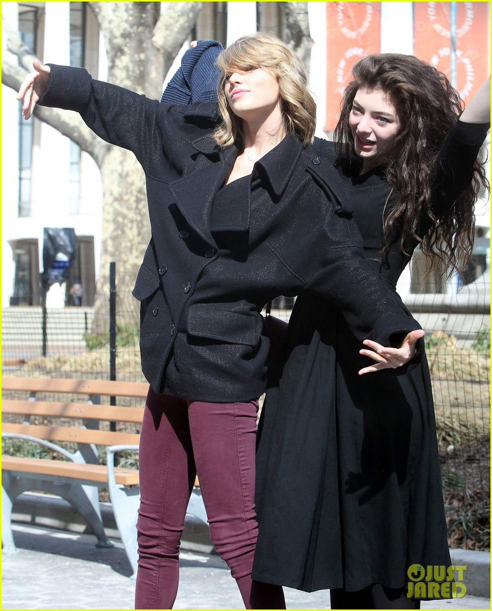 taylor swift lorde get silly in nyc 023068860