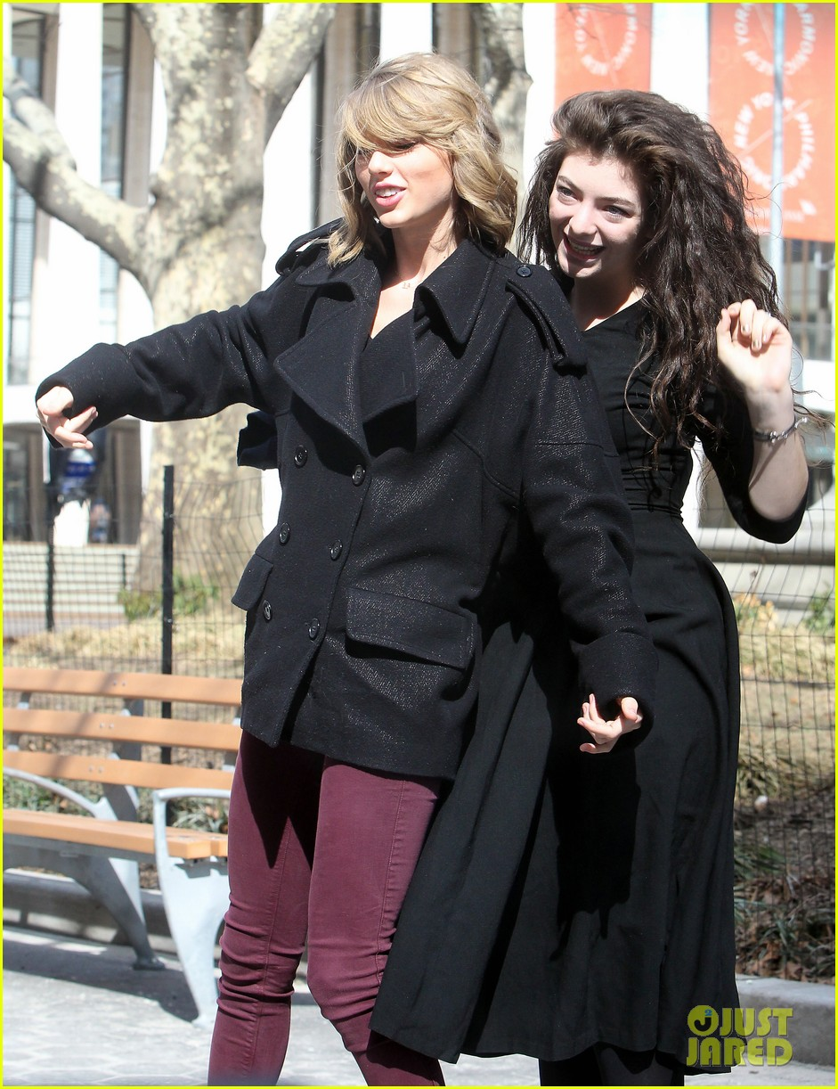 taylor swift lorde get silly in nyc 103068868