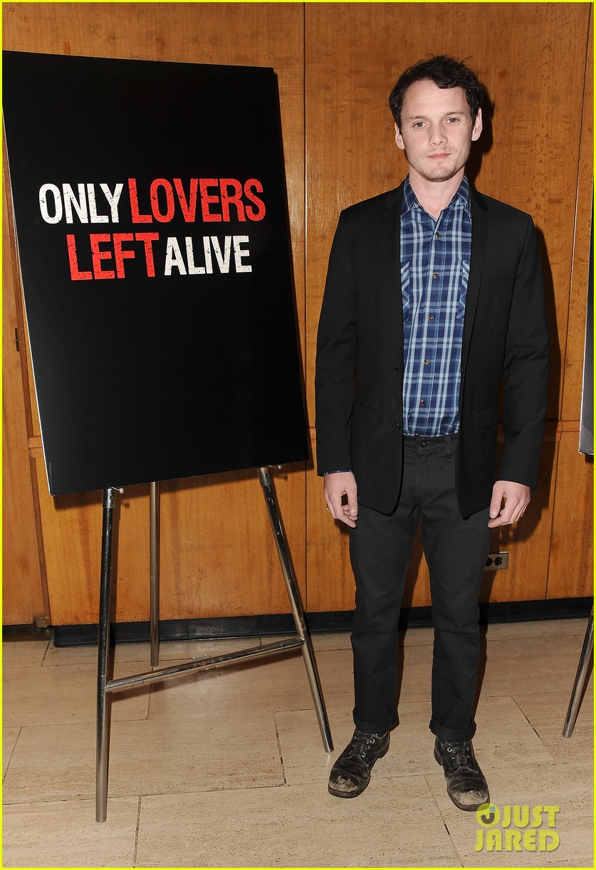 tilda swinton anton yelchin only lovers left alive screening 073069770