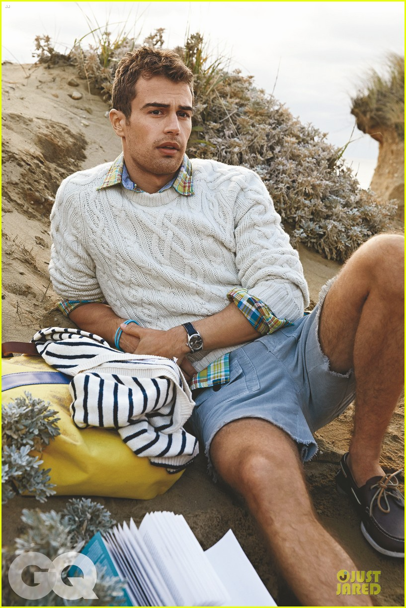 theo james is a preppy hottie for gq 023070274