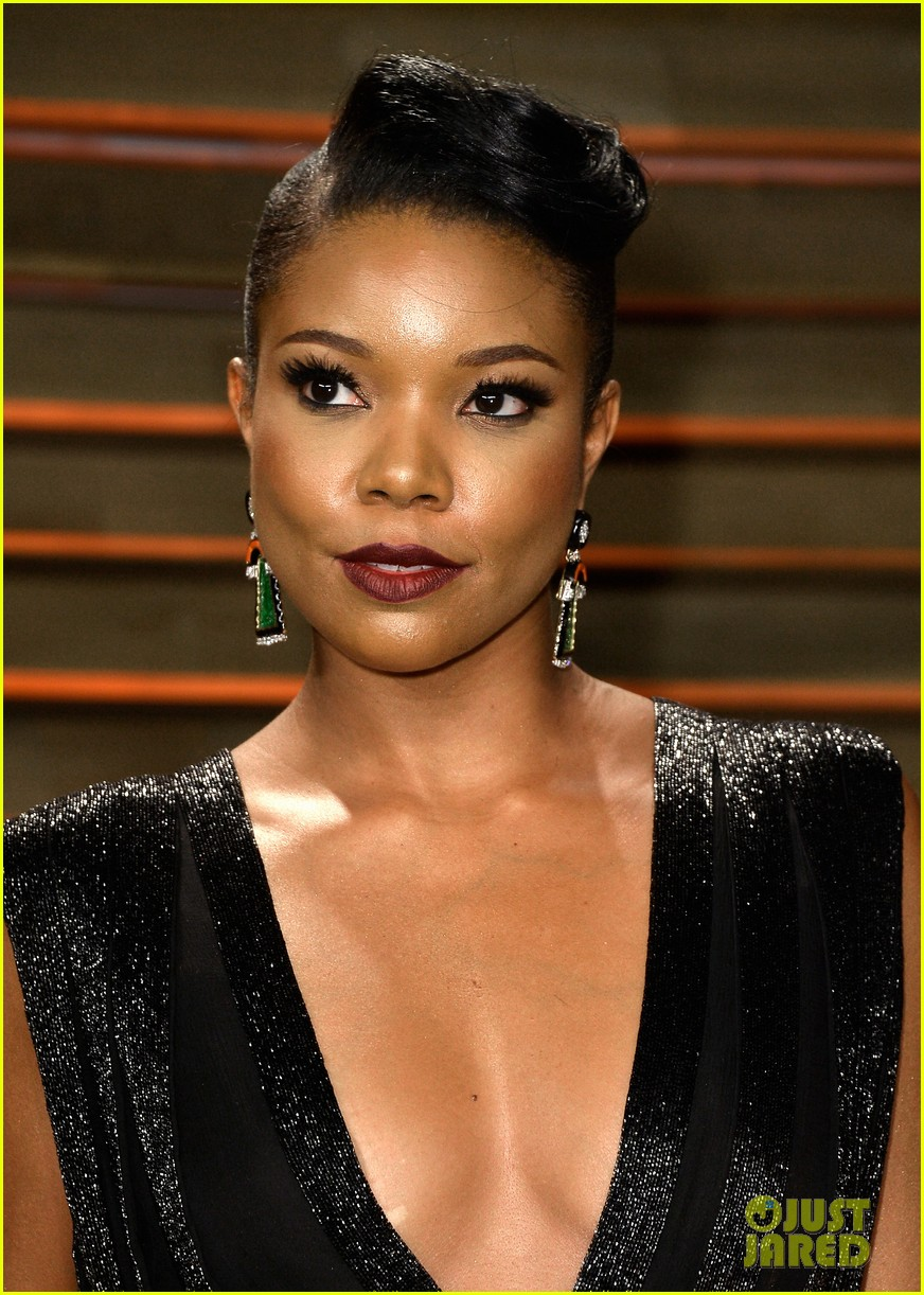 gabrielle union calls lupita nyongo perfection before vanity fair oscars party 2014 013064372