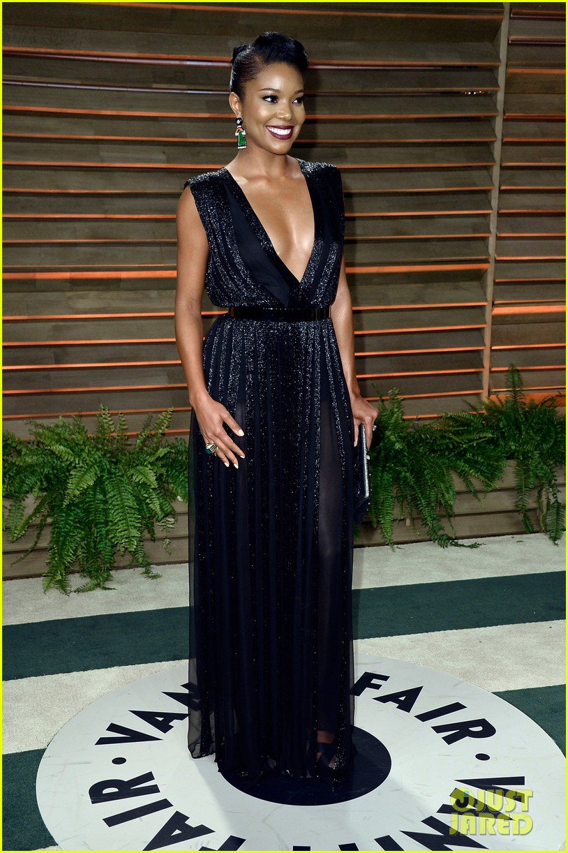gabrielle union calls lupita nyongo perfection before vanity fair oscars party 2014 033064374