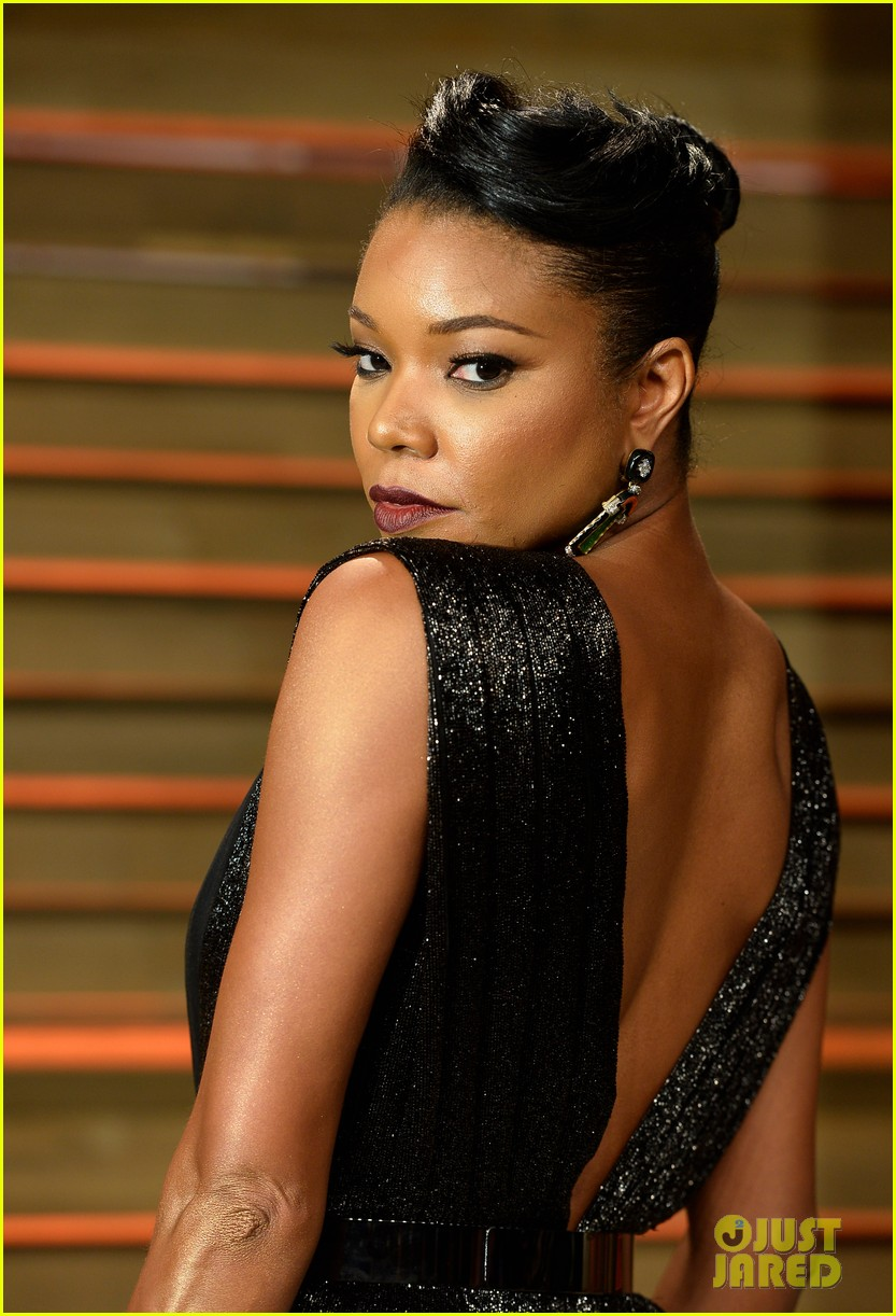 Gabrielle Union Hits the Vanity Fair Oscars Party 2014 ...