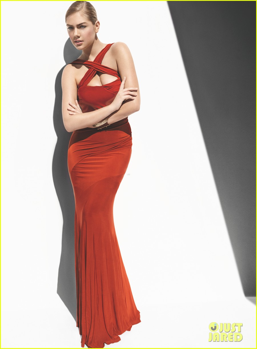 kate upton all wrapped in red for vogue feature 023076107