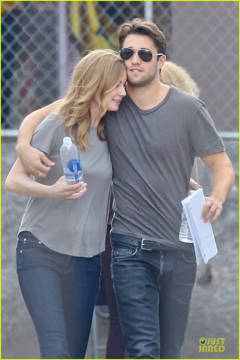 emily vancamp josh bowman wrapped up 023078123
