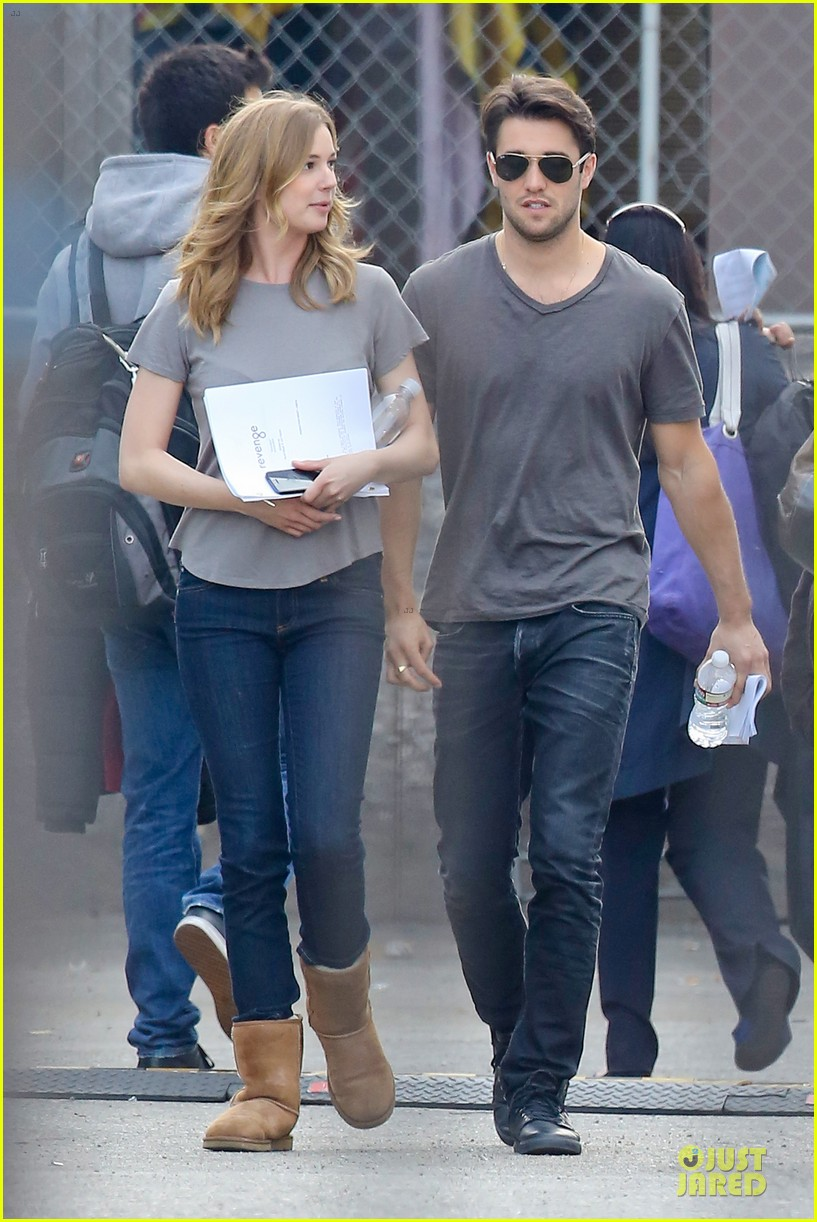 emily vancamp josh bowman wrapped up 053078126