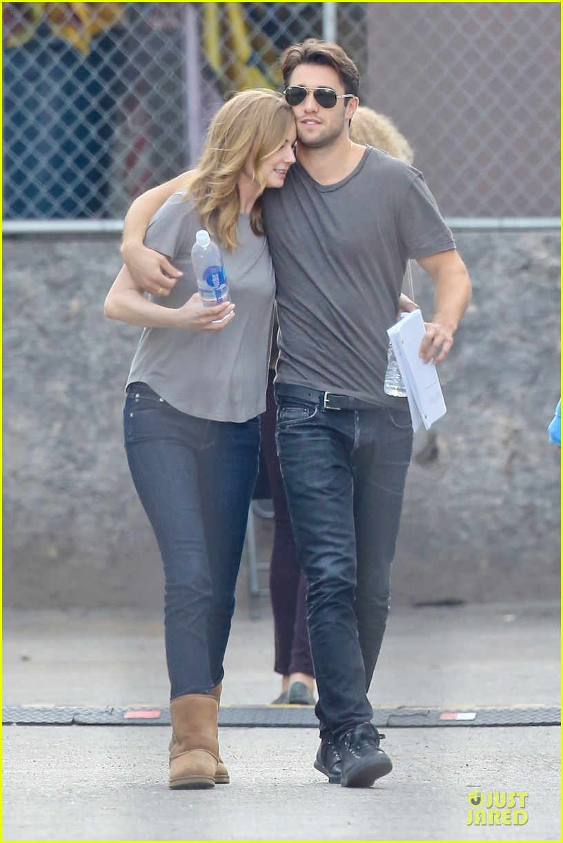 emily vancamp josh bowman wrapped up 173078138