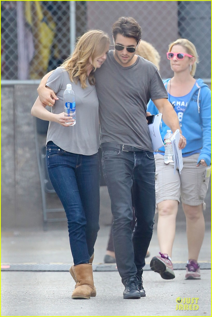 emily vancamp josh bowman wrapped up 193078140