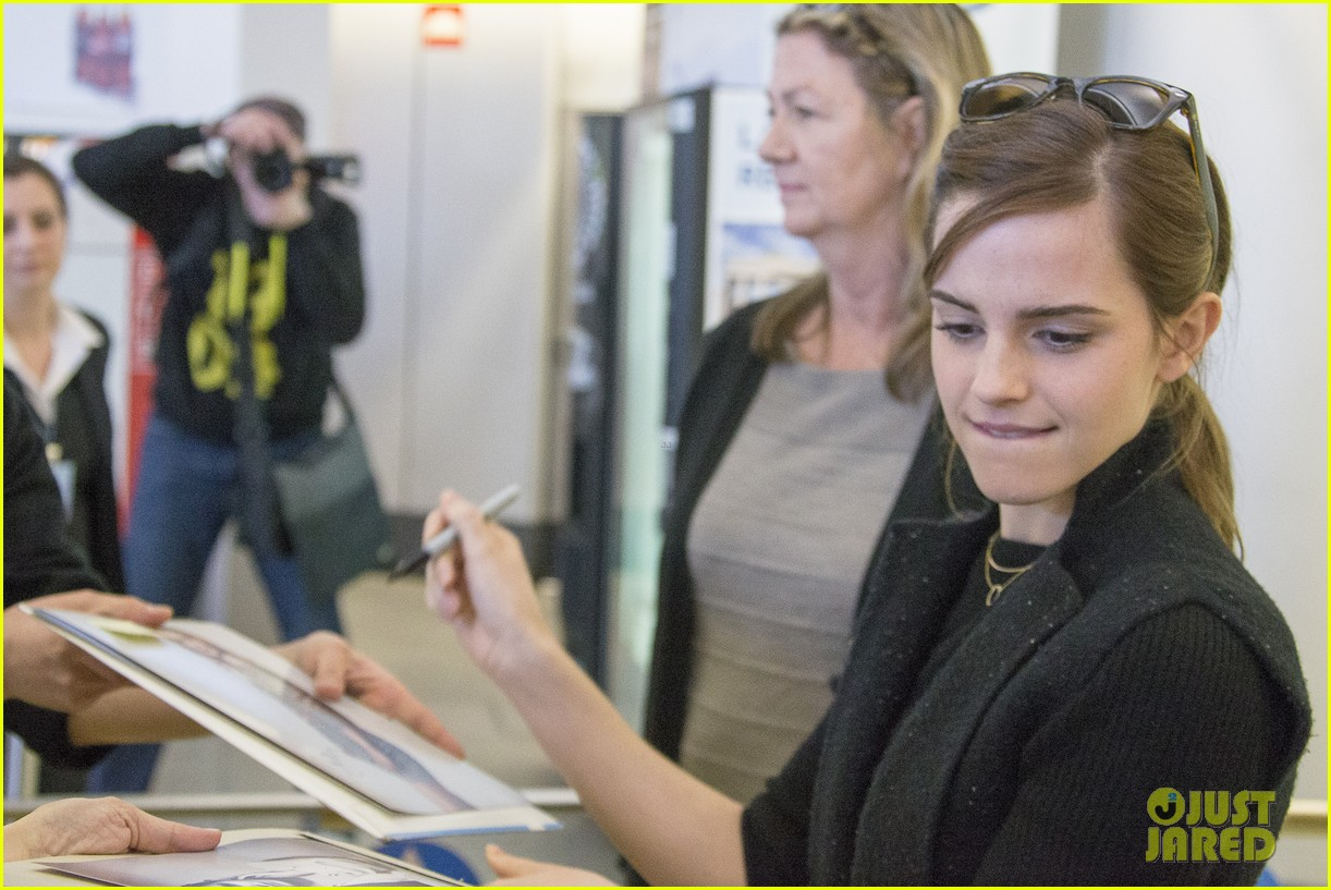emma watson douglas booth arrive in berlin ahead of noah premiere 083070548