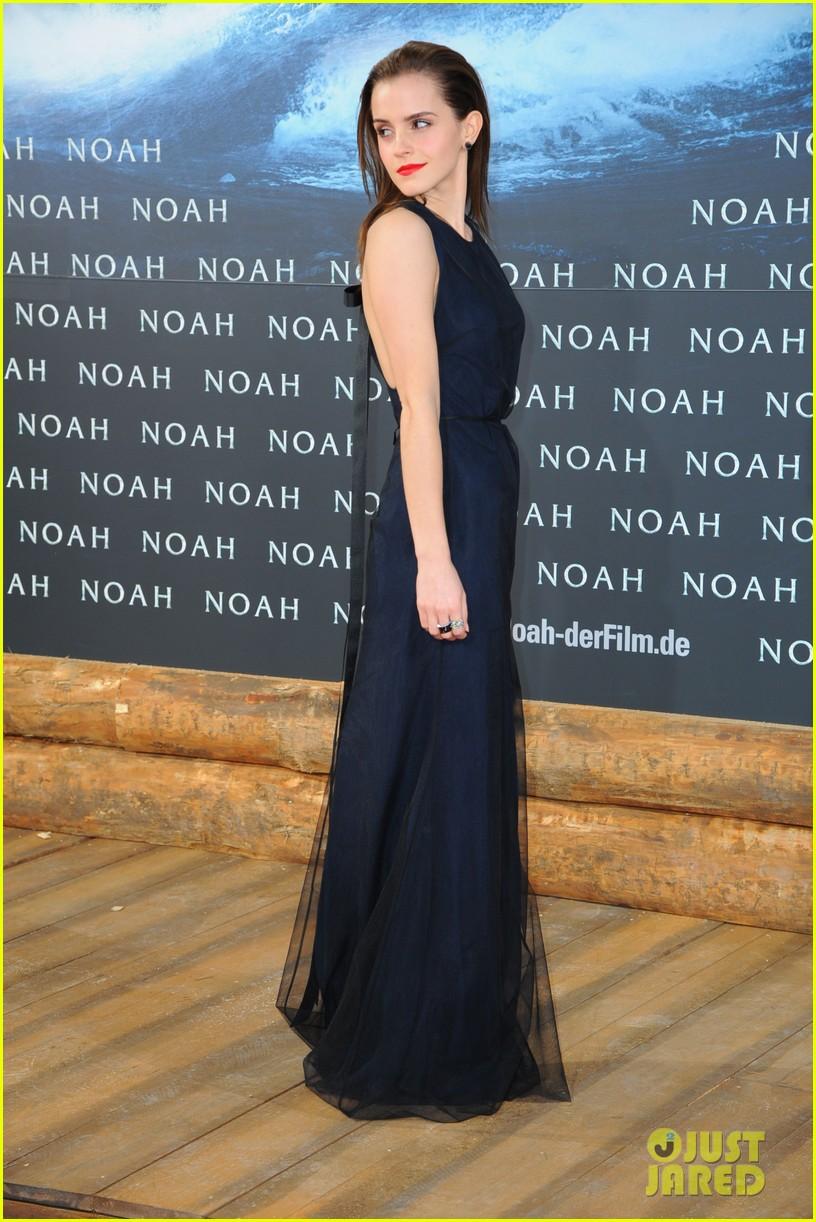 emma watson begins noah press tour premieres the film in berlin 01