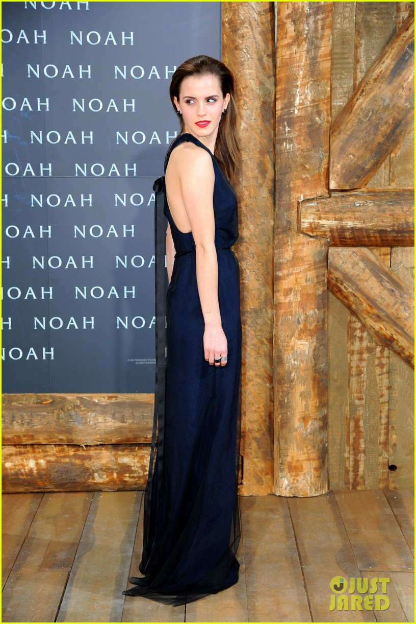 emma watson begins noah press tour premieres the film in berlin 03