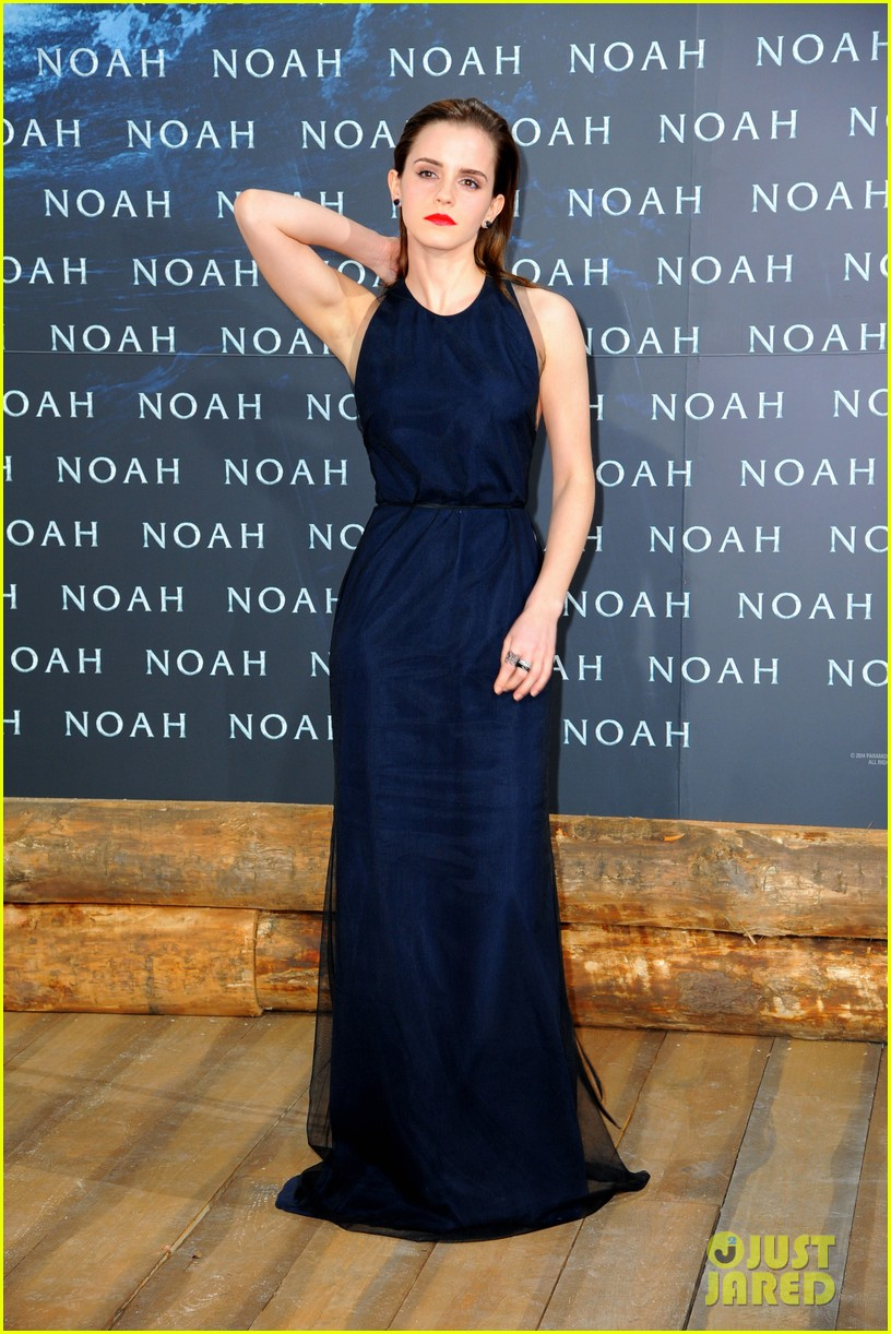 emma watson begins noah press tour premieres the film in berlin 06