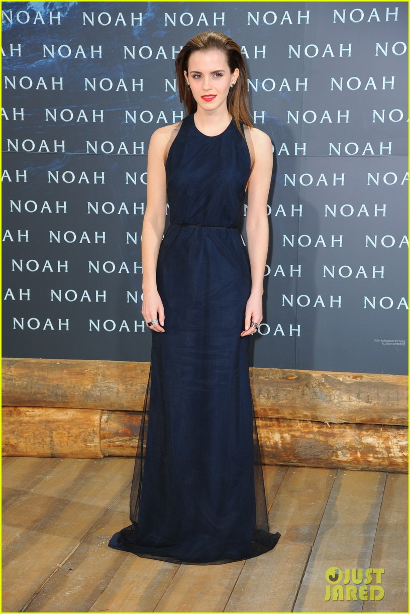 emma watson begins noah press tour premieres the film in berlin 073071310